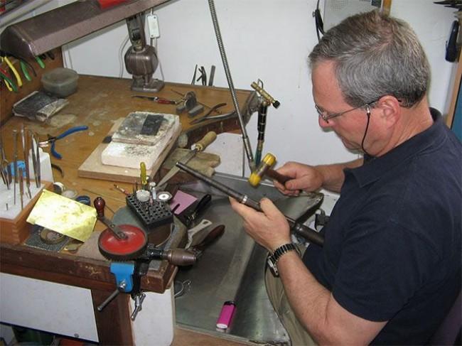 עבודה בסדנא : הגדלת טבעת